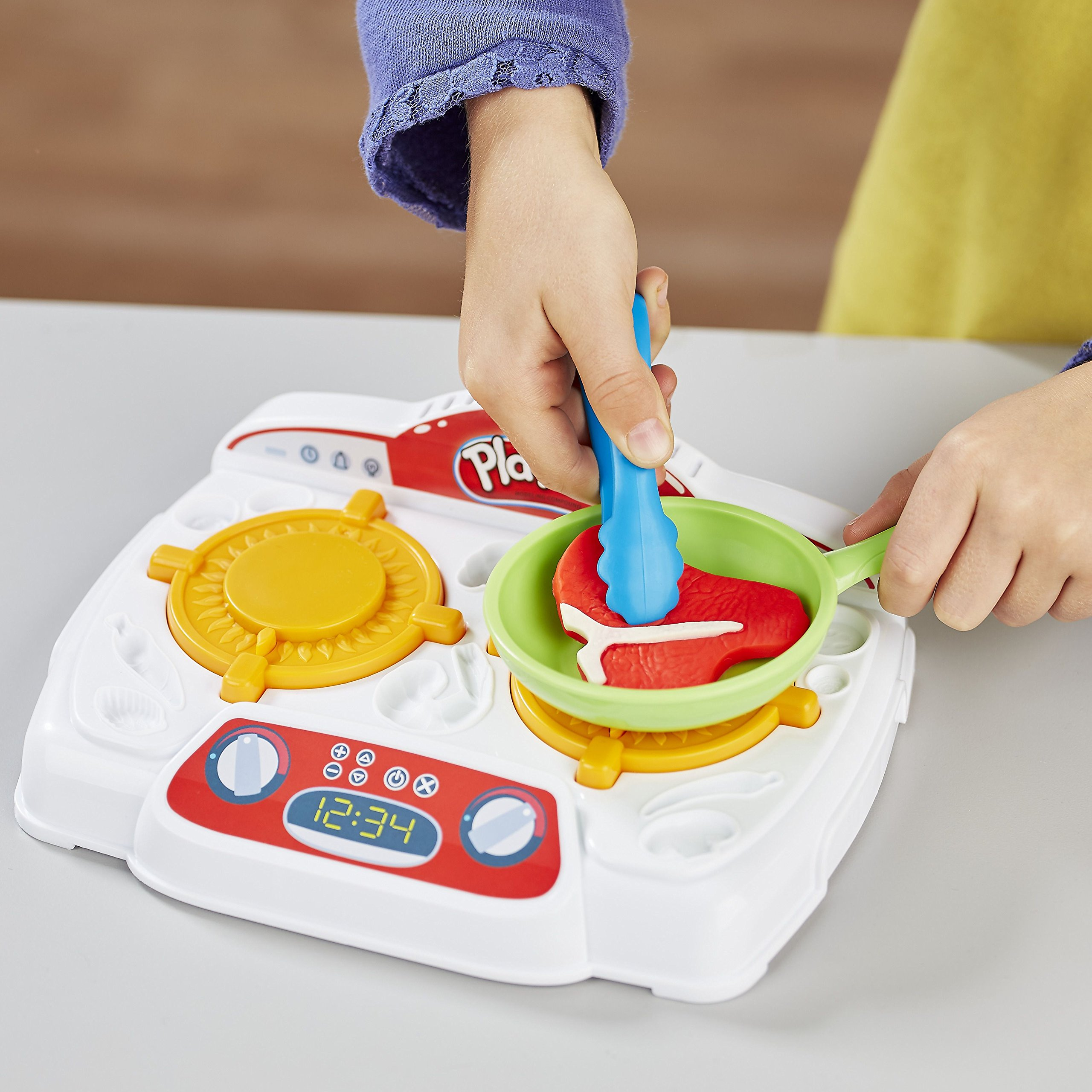 Play-Doh - B9014 - Kitchen Creations Sizzling Stovetop by Play-Doh (Image #3)