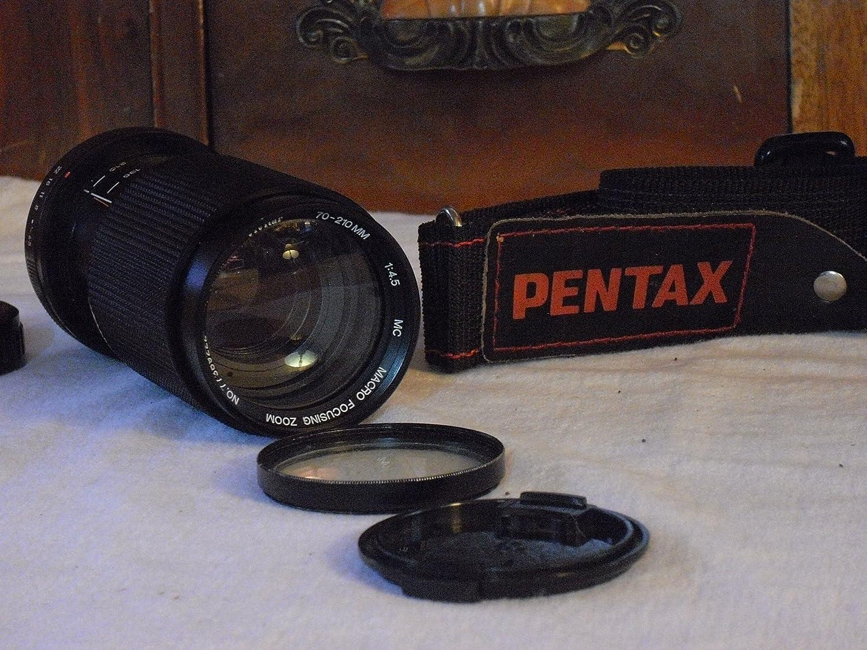 Pentax K1000 - Filtros UV para objetivo (50 mm, 1,2 unidades) + tapas Ex.: Amazon.es: Electrónica
