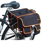 Ibera 2 in 1 Bike Panniers/ Messenger Bag with Detachable Shoulder Strap