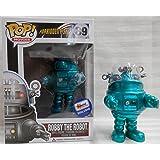Funko Pop Movies Robby The Robot Metallic Turquoise Vinyl Figure Exclusive