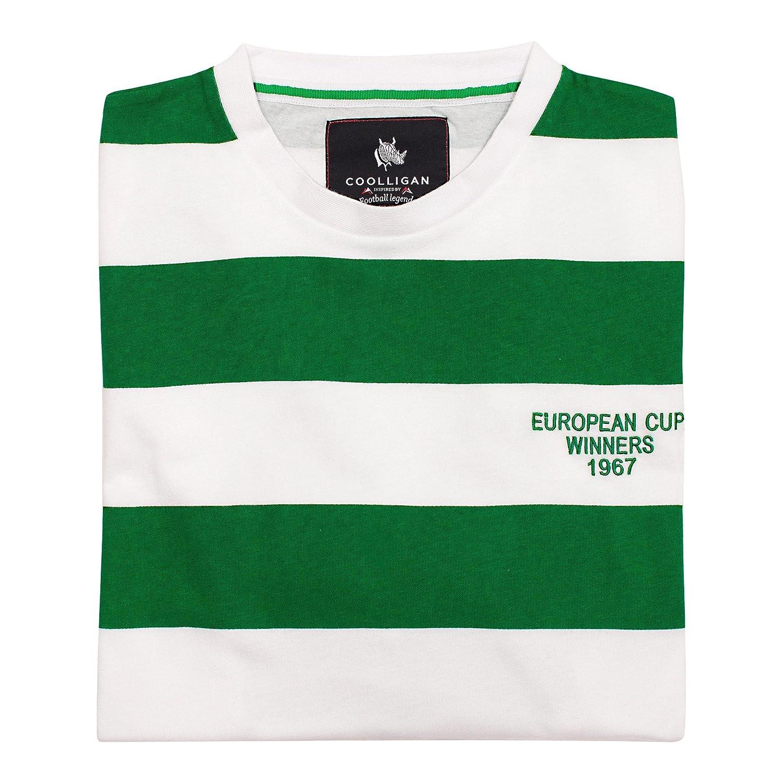 Coolligan - Camiseta de Fútbol Retro 1967 Celtic - Color - Verde ...