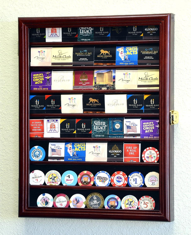 Amazon.com : 64 Matches Matchbook Display Case Cabinet Holder Rack ...