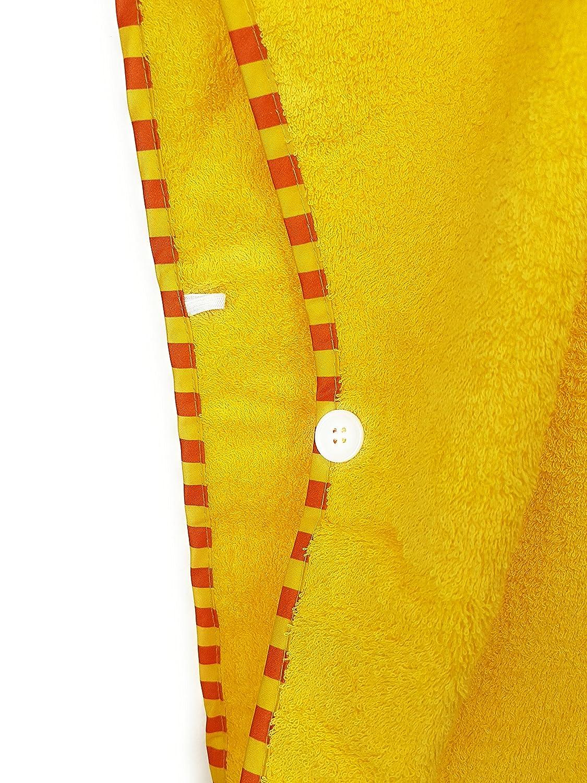 Schlupfi Badeponcho Kinder Kapuzenhandtuch f/ür Jungen und M/ädchen Handtuch Poncho mit Tiermotiv Kinderhandtuch mit Kapuze