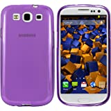 mumbi TPU Skin Case für Samsung Galaxy S3 / S3 Neo Silikon Tasche Hülle - Silicon Protector Schutzhülle lila