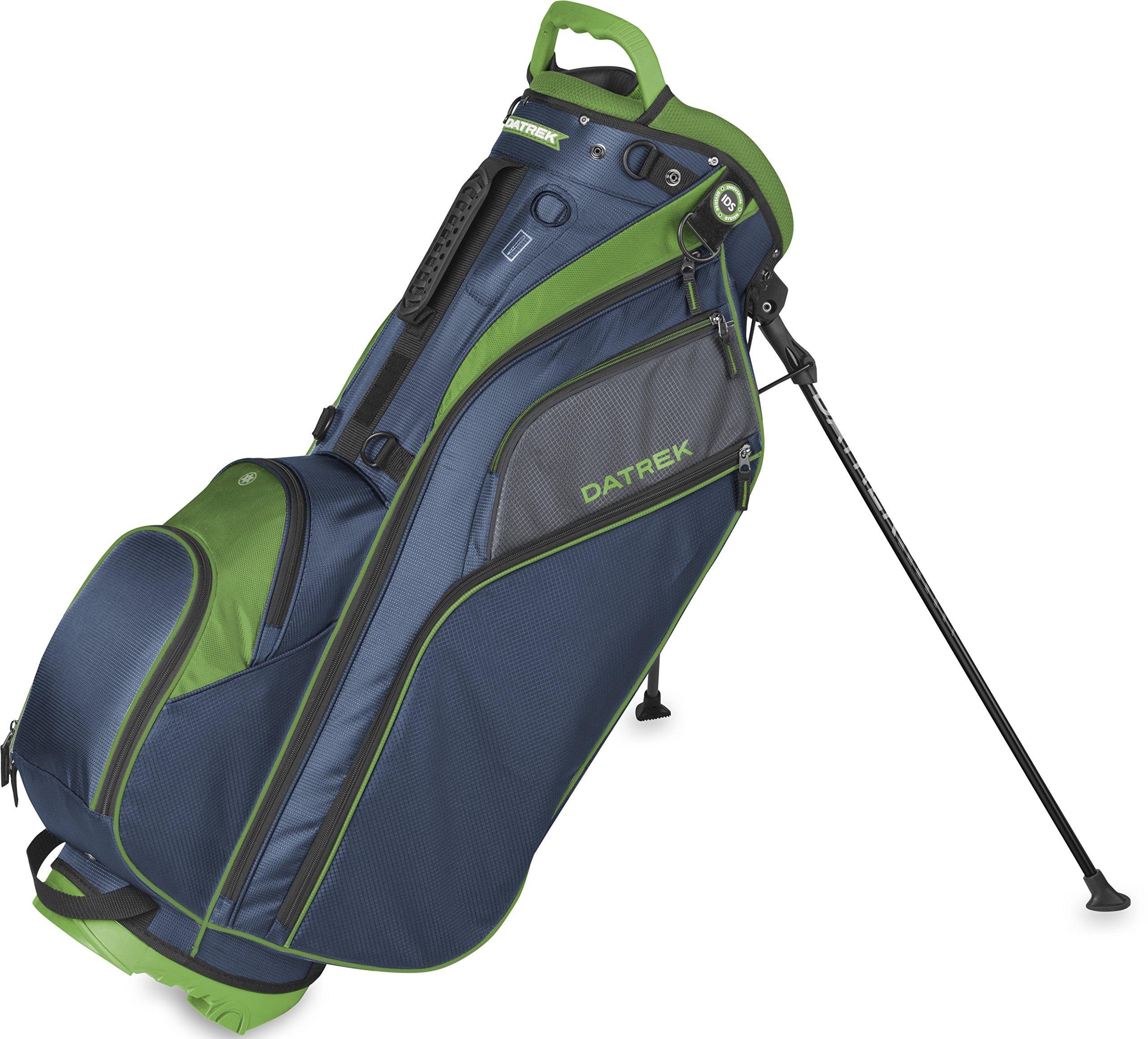 Datrek Golf Go Lite Hybrid Stand Bag (Navy/Slate/Lime) by Datrek