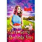 Strawberry Shortcake Sins: Cozy Mystery (MURDER IN THE MIX Book 21)