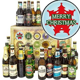 Bier Weihnachtsbaum.Weihnachtsbaum Bier Aus Aller Welt Und D 24x Geschenk Zu
