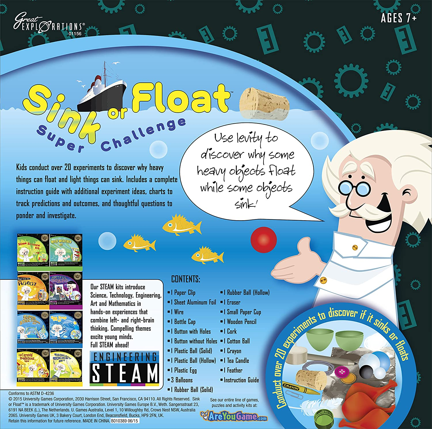 Great Explorations Sink or Float