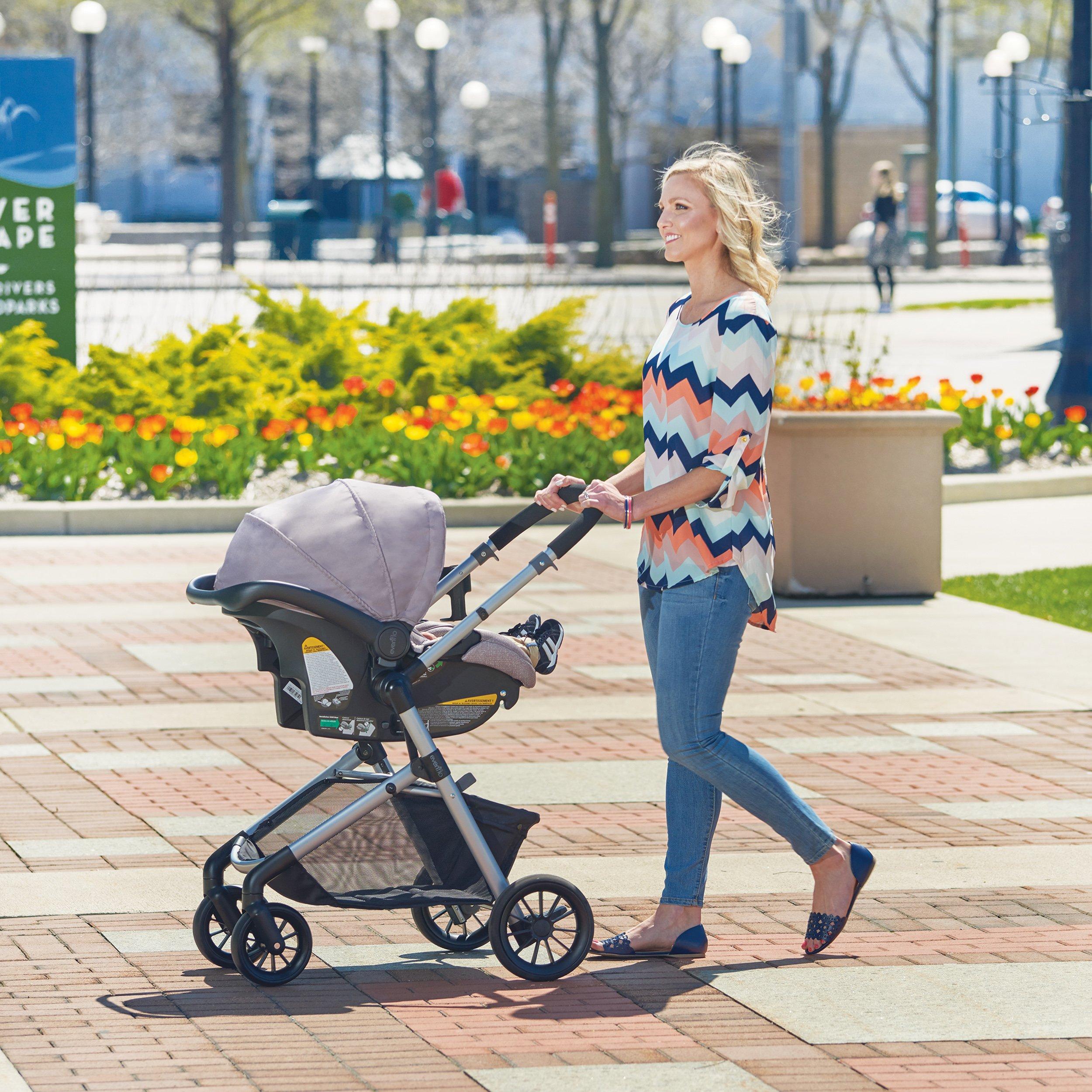 Evenflo Pivot Modular Travel System, Lightweight Baby ...