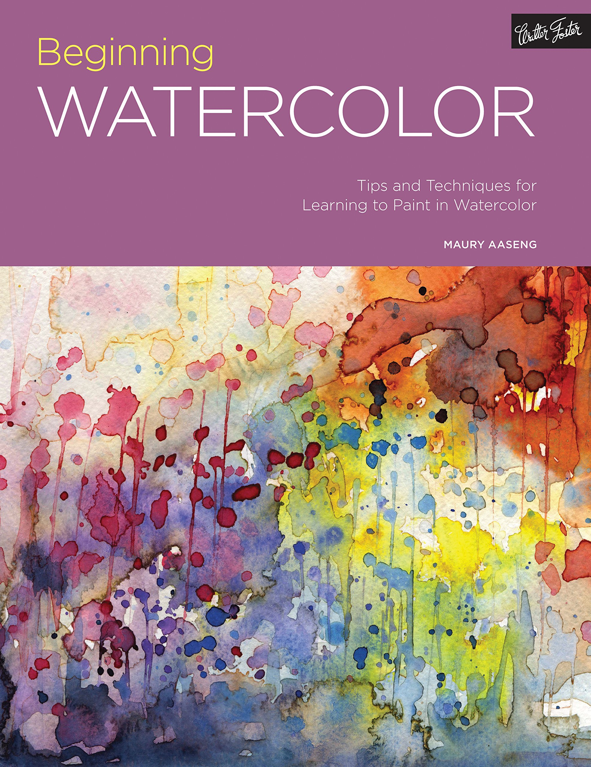 Watercolor artist magazine subscription - Portfolio Beginning Watercolor Tips And Techniques For Learning To Paint In Watercolor Maury Aaseng 9781633221079 Amazon Com Books