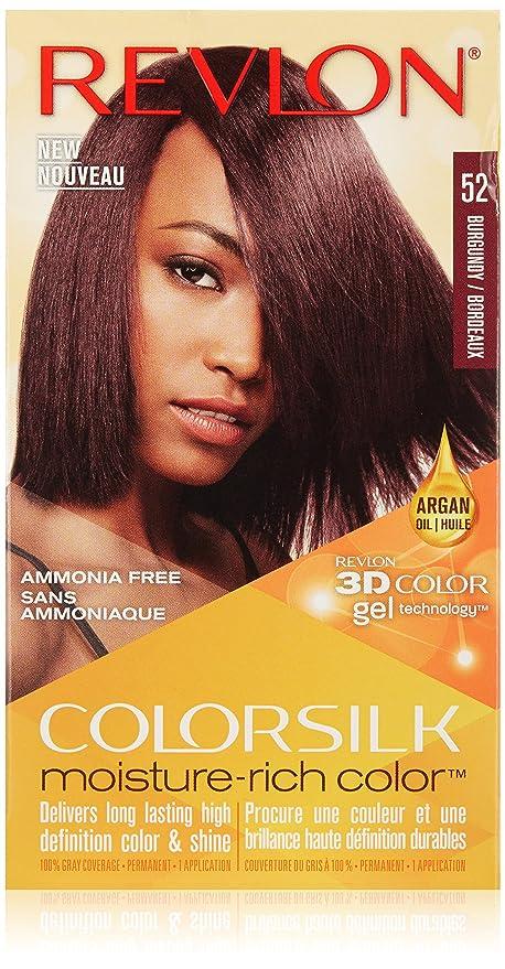 Buy Burgundy Revlon Colorsilk Moisture Rich Hair Color 52