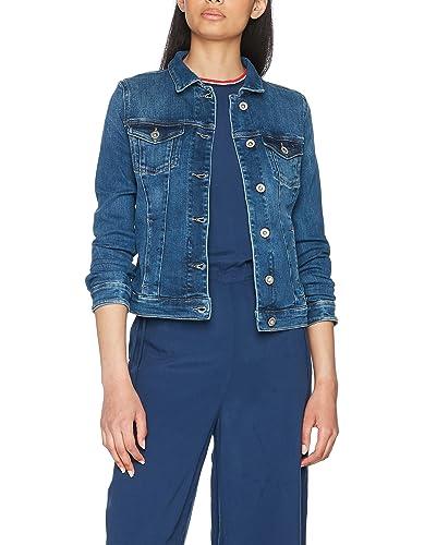 Tommy Jeans, Chaqueta de Mezclilla para Mujer