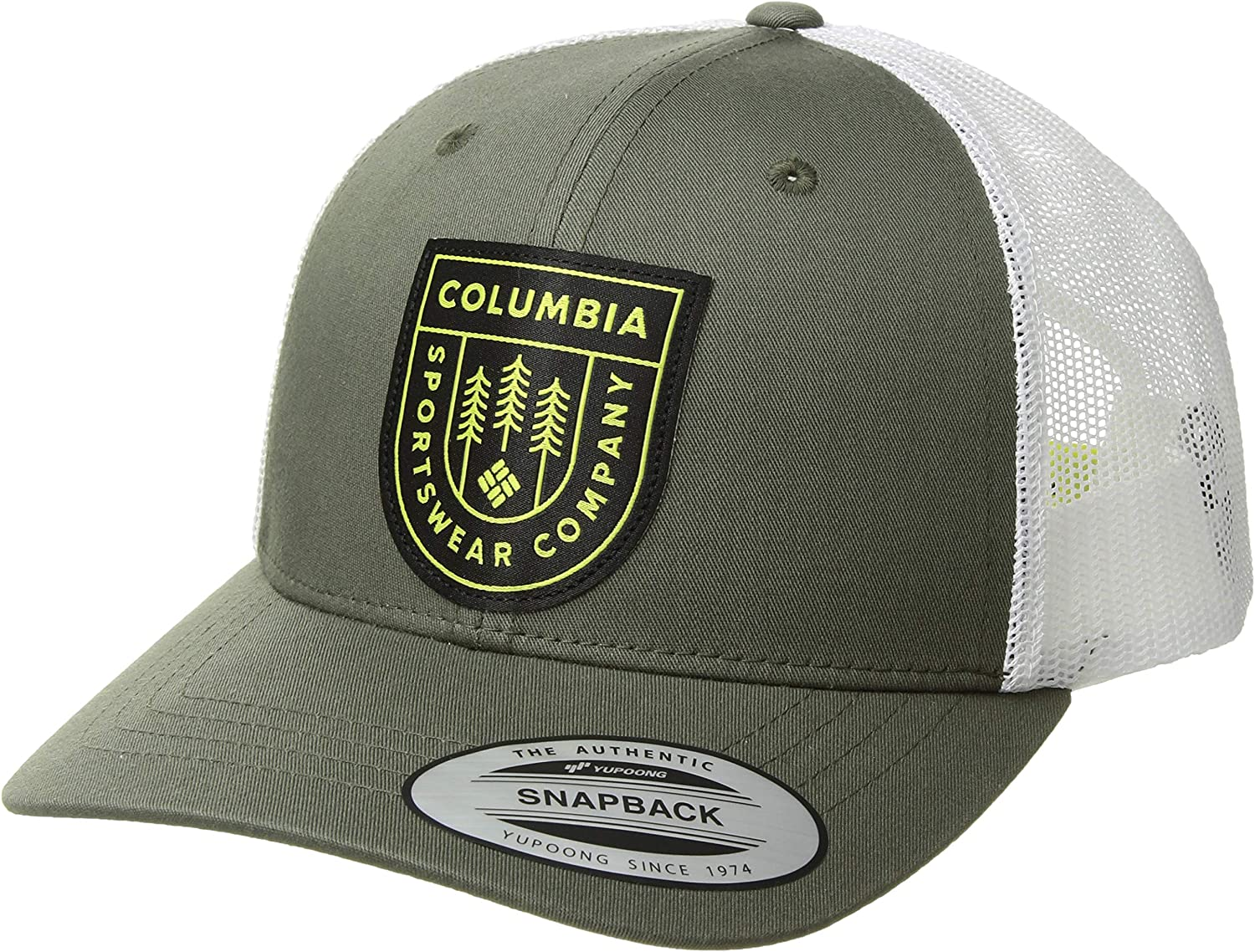 Breathable Columbia Womens Snap Back Hat Adjustable
