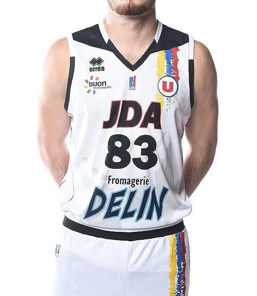 Errea JDA Dijon - Camiseta de Baloncesto para Hombre: Amazon.es: Deportes y aire libre