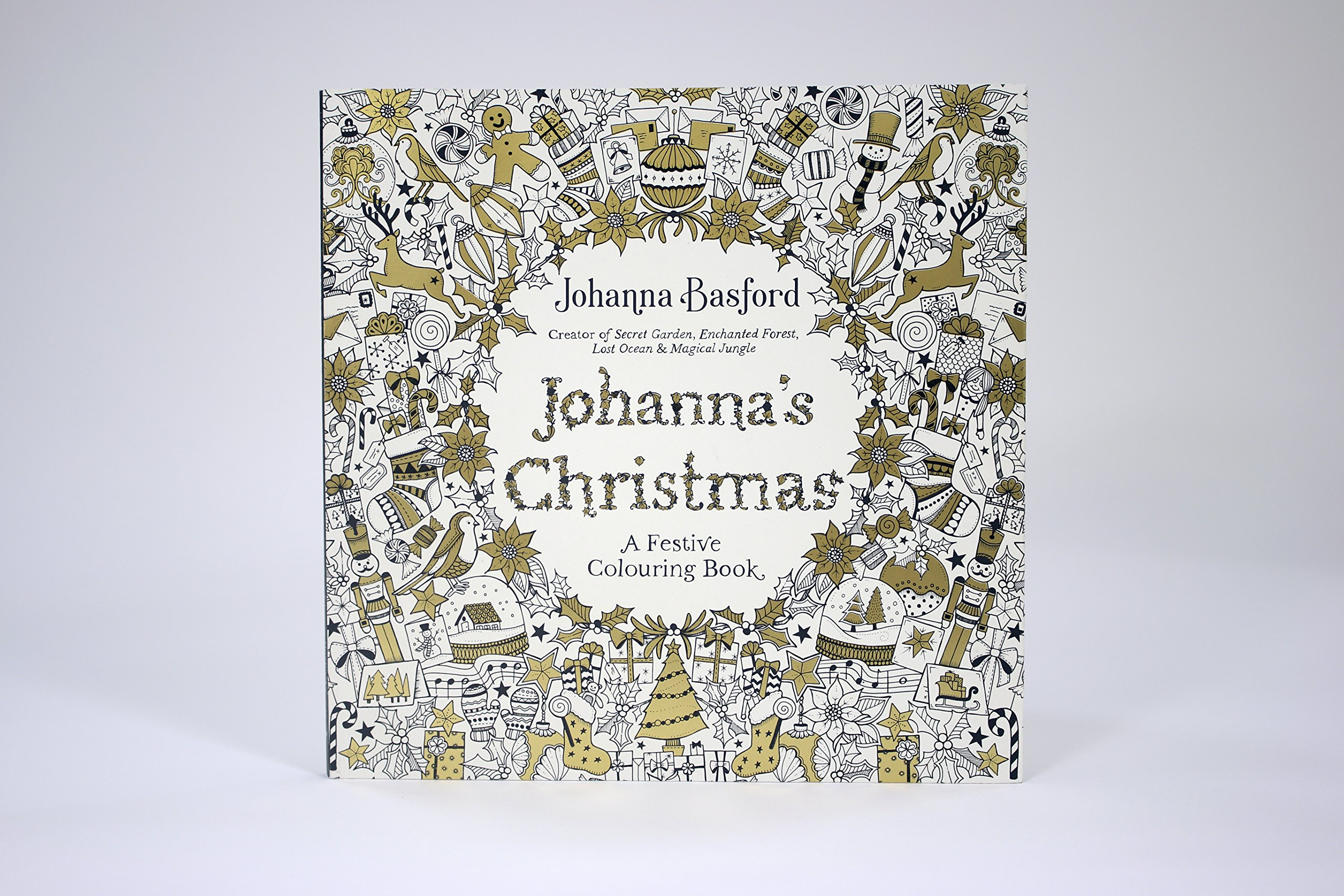 Johannas Christmas A Festive Colouring Book Books Amazonco Uk Johanna Basford 9780753557563