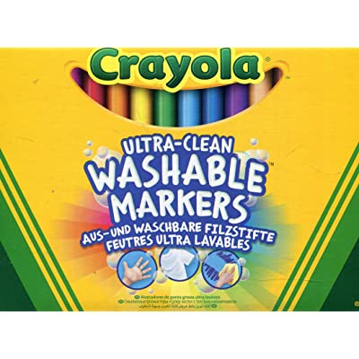 Crayola 58-8329 - Marcadores (12 Unidades), Punta Fina: Juguetes y juegos