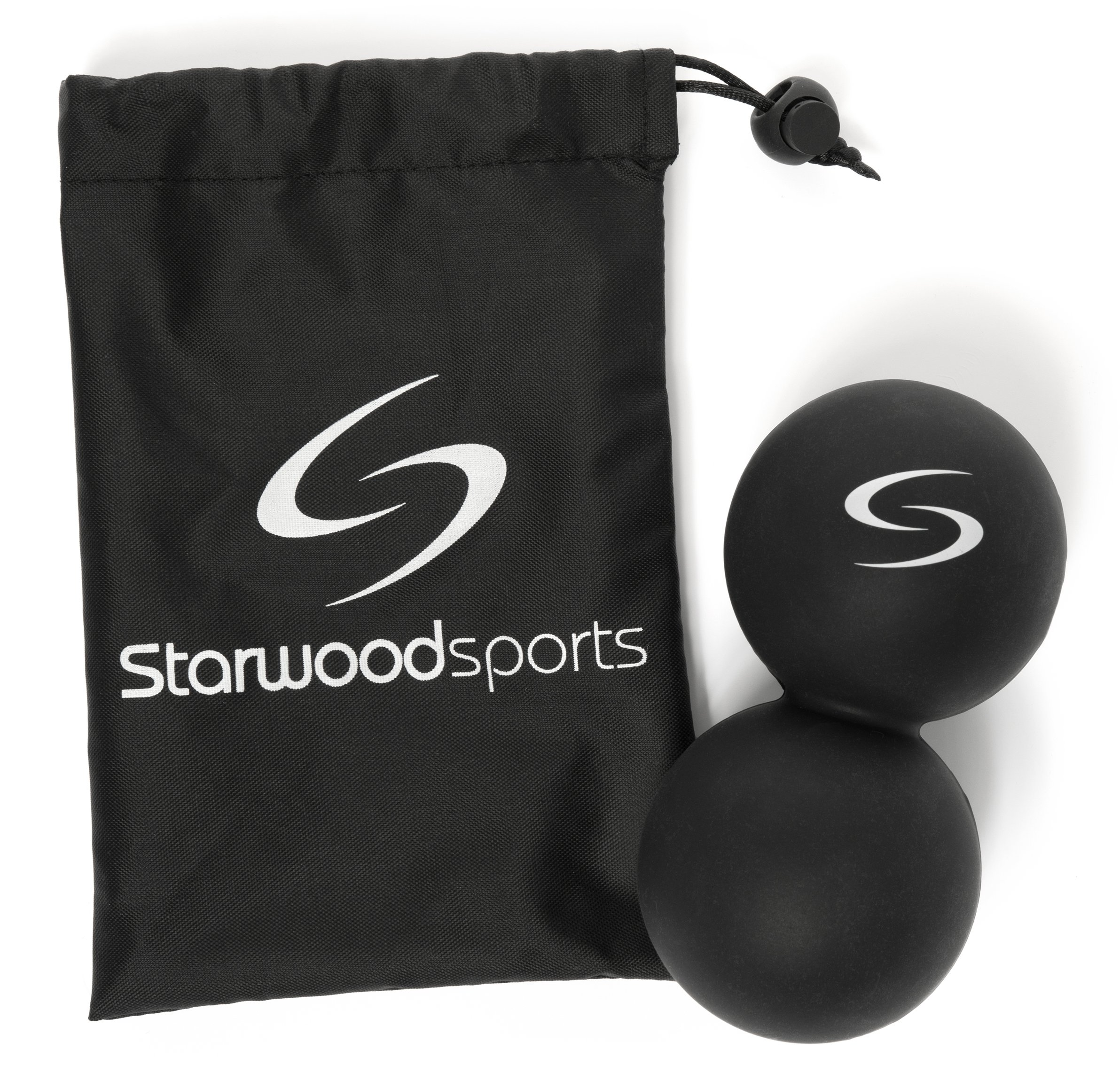 Massage Ball - Peanut Lacrosse Ball - Ideally Suited for Myofascial  Release e44a3918cb614