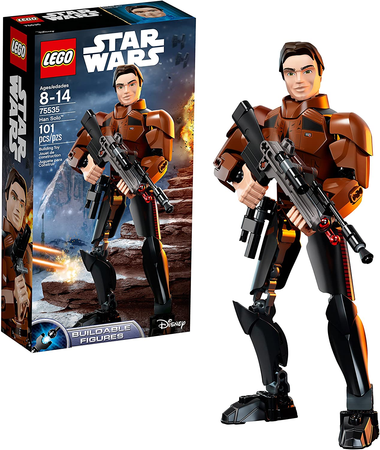 LEGO Star Wars Solo: A Star Wars Story Han Solo 75535 Building Kit (101 Piece)
