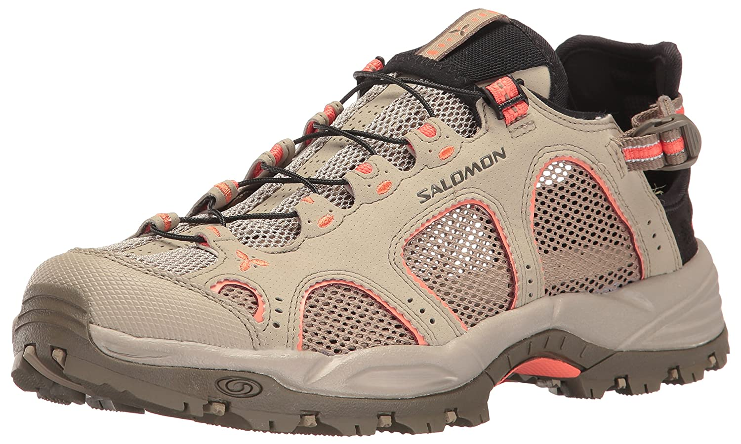 Salomon Women's Techamphibian 3 W Trail Running Shoe B01HD2RG3Q 8 B(M) US|Vintage Kaki