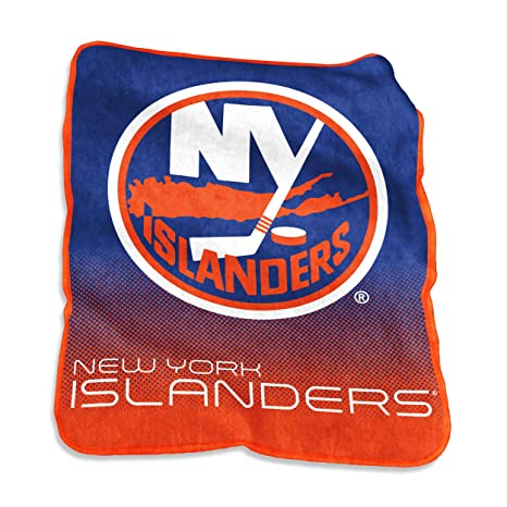 Image Unavailable. Image not available for. Color  NHL New York Islanders Plush  Raschel Throw with Large Logo Blanket ... 758d7867a