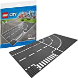 Lego 7281 - City Supplementary - Incrocio a T e curva