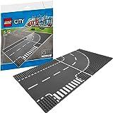 LEGO City - Virage et croisement - 7281 - Jeu de Construction