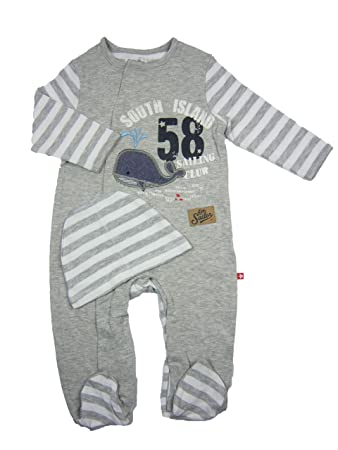 Baby Boy Sleepsuit and Hat Set Whale (6-9 months)  Amazon.co.uk  Baby e212577ab0b