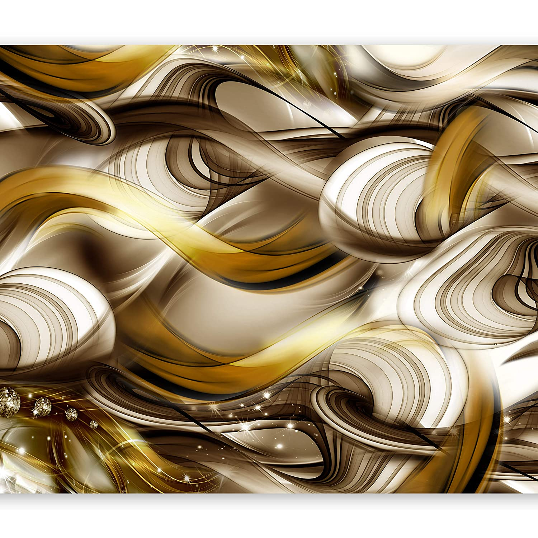 Murando - Fototapete Fototapete Fototapete 400x280 cm - Vlies Tapete - Moderne Wanddeko - Design Tapete - Wandtapete - Wand Dekoration - Abstrakt Gold a-A-0084-a-d B01C2YCZ36 Wandtattoos & Wandbilder 45f128