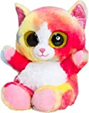 Keel Toys SF0437 15 cm Animotsu Rainbow Cat Plush Toy