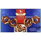 Weiss Lebkuchen Herzen/ Sterne/ Brezeln Vollmilch, 500 g