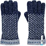Öjbro Swedish made 100% Merino Wool Soft Thick & Extremely Warm Gloves (as Featured by the Raynauds Assn)