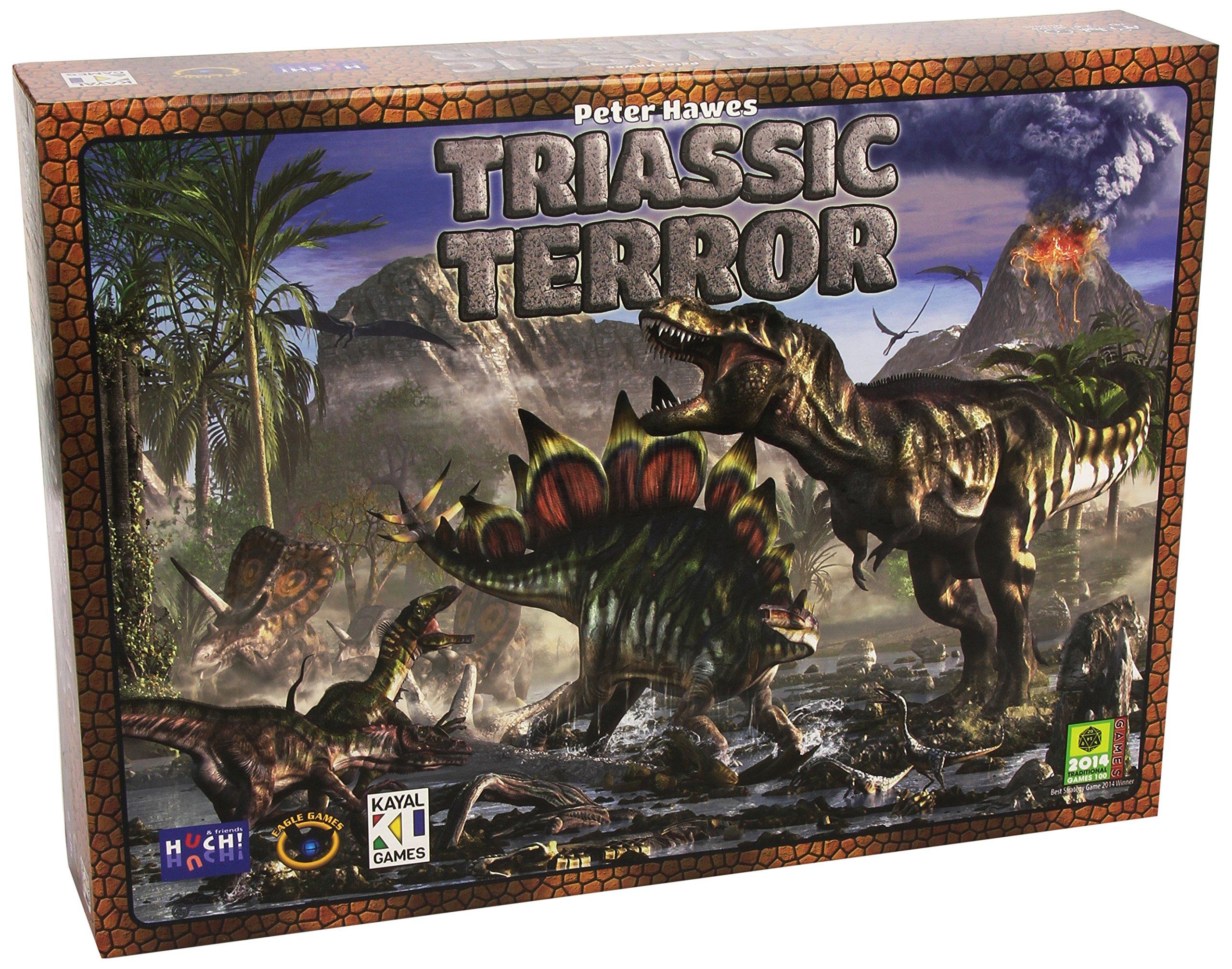 Eagle Games Triassic Terror Game