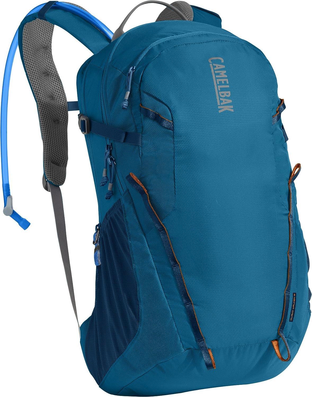 CamelBak Cloud Walker 18 Crux Reservoir Hydration Pack%% Grecian Blue/Pumpkin%% 2.5 L/85 oz B01L8JETNU