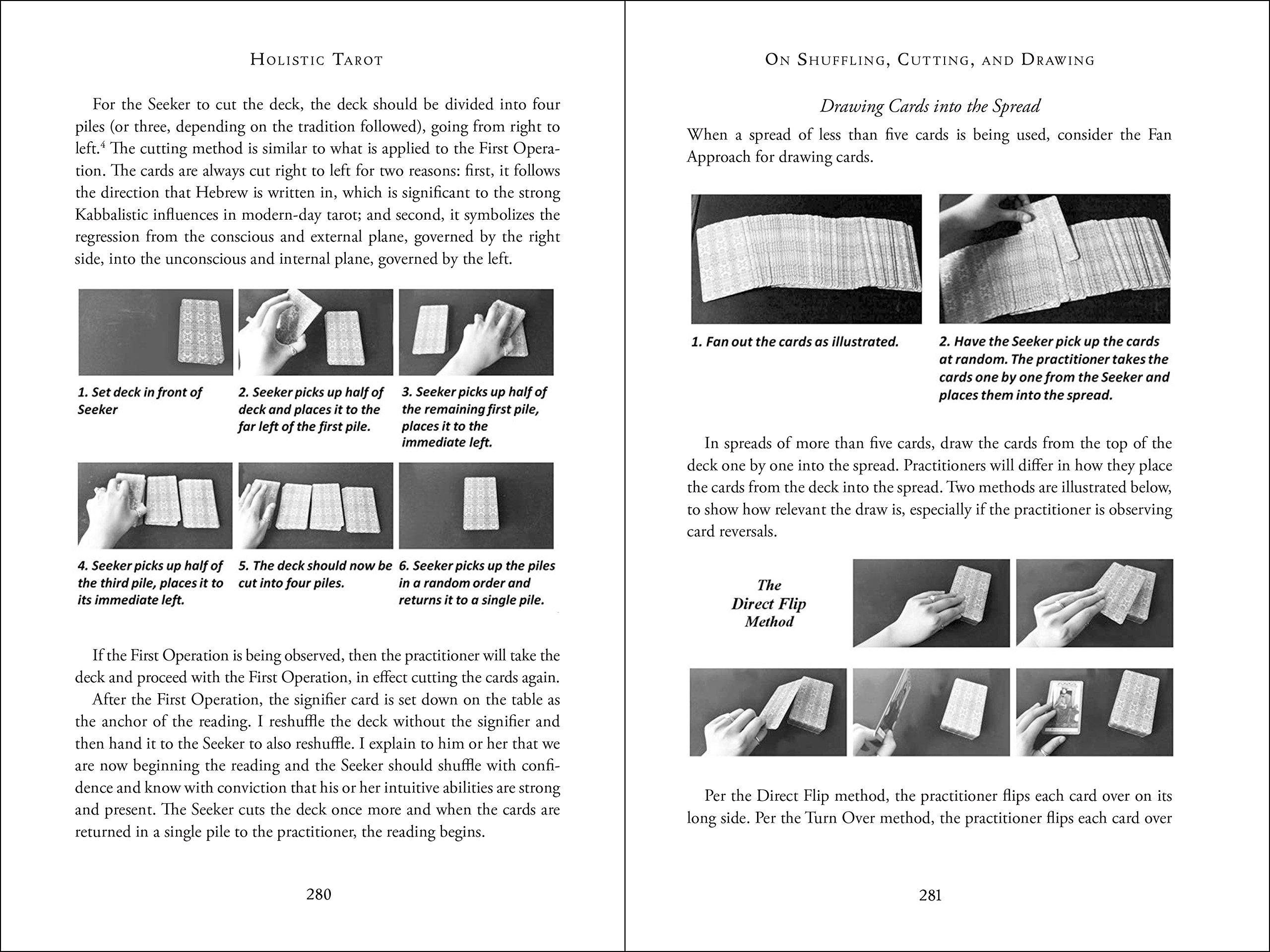 Amazon com: Holistic Tarot: An Integrative Approach to Using Tarot