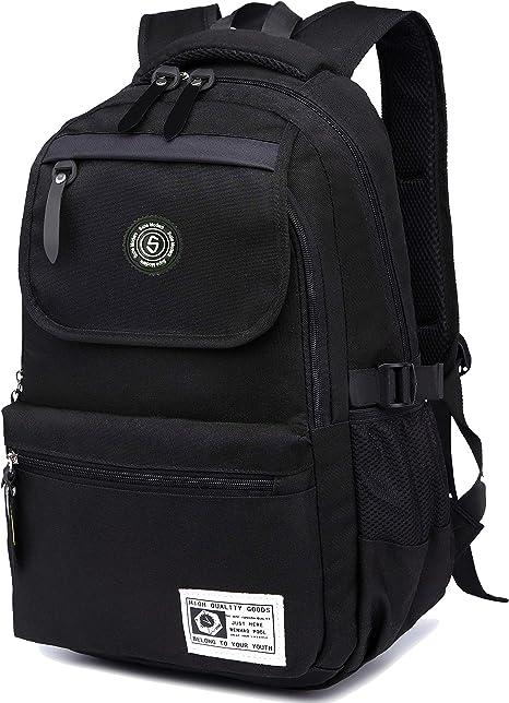 Men Women Travel Backpack Unisex School Shoulder Gym Camping Hiking Bag Rucksack