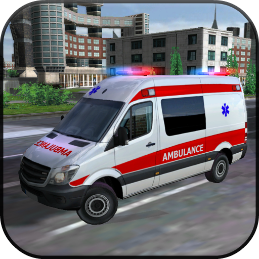 [Ambulance Car Simulator 3D] (Police Ambulance)