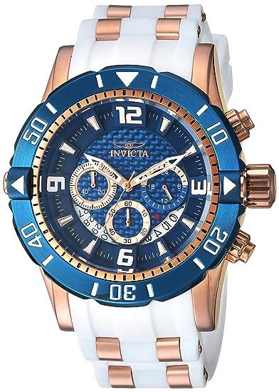 Invicta 23709 - Reloj de pulsera hombre, Poliuretano, color Bicolor: Amazon.es: Relojes