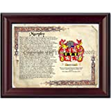 Murphy Coat of Arms/ Family Crest on Fine Paper and Family History