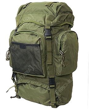 Comando de mochila Trekking Mil-Tec, oliva: Amazon.es: Deportes y aire libre