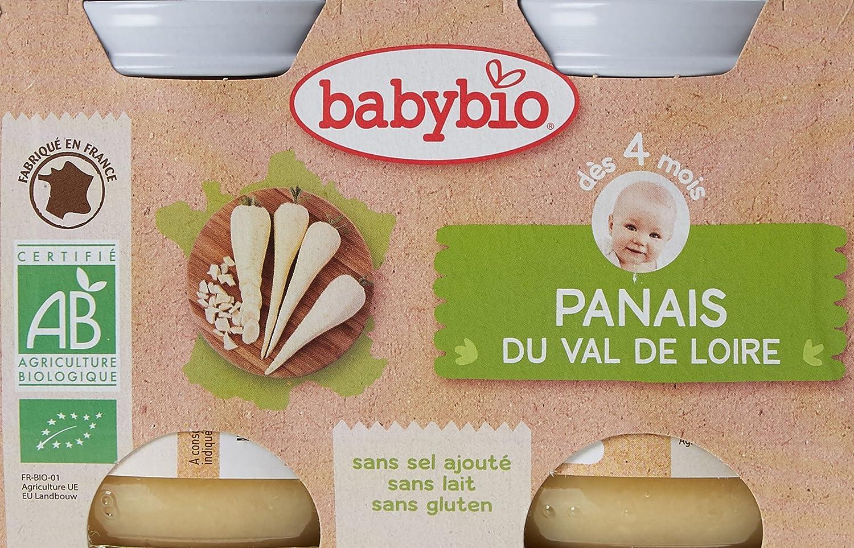 Babybio Pots Panais du Val de Loire 260 g - Lot de 6 51048 alimentation bébé diversification