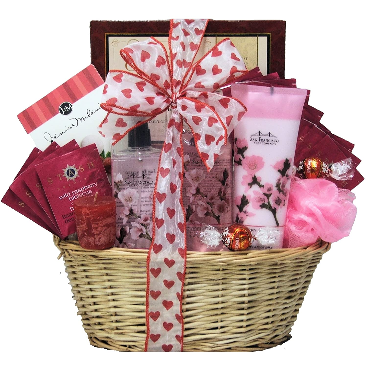 Amazon.com : GreatArrivals Gift Baskets Spa Retreat Valentine's ...