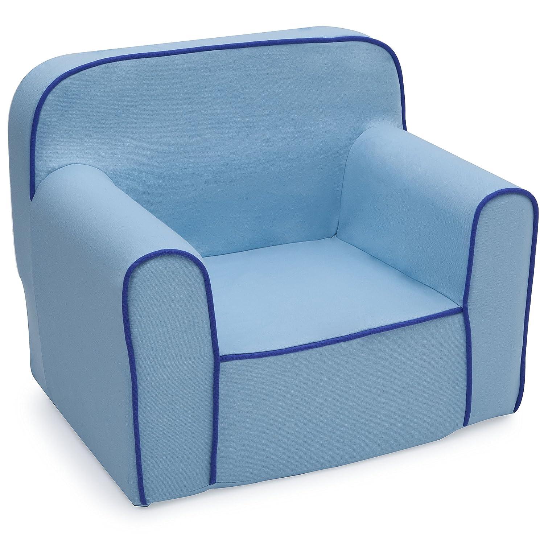 Amazon Delta Children Foam Snuggle Chair Blue Baby