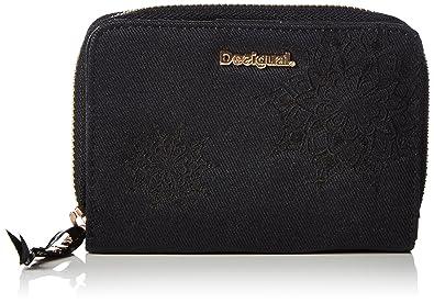 Desigual Magnetic Emma PorteMonnaie Noir Negro Taille Unique - Porte monnaie desigual