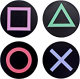 Playstation Metal Icons Coasters