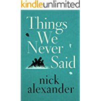 Things We Never Said book cover