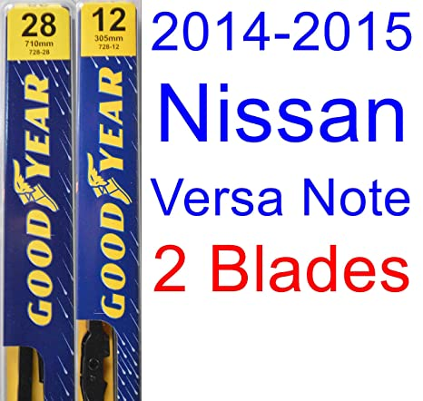 Amazon 2014 2015 Nissan Versa Note Replacement Wiper Blade Set