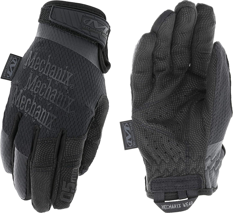 Black Mechanix Womens Specialty 0.5mm Covert Black Gloves Small