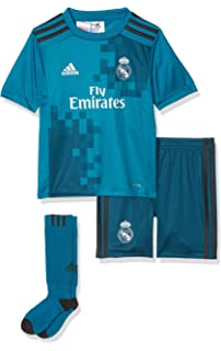 adidas 2017-2018 Real Madrid Third SMU Mini Kit