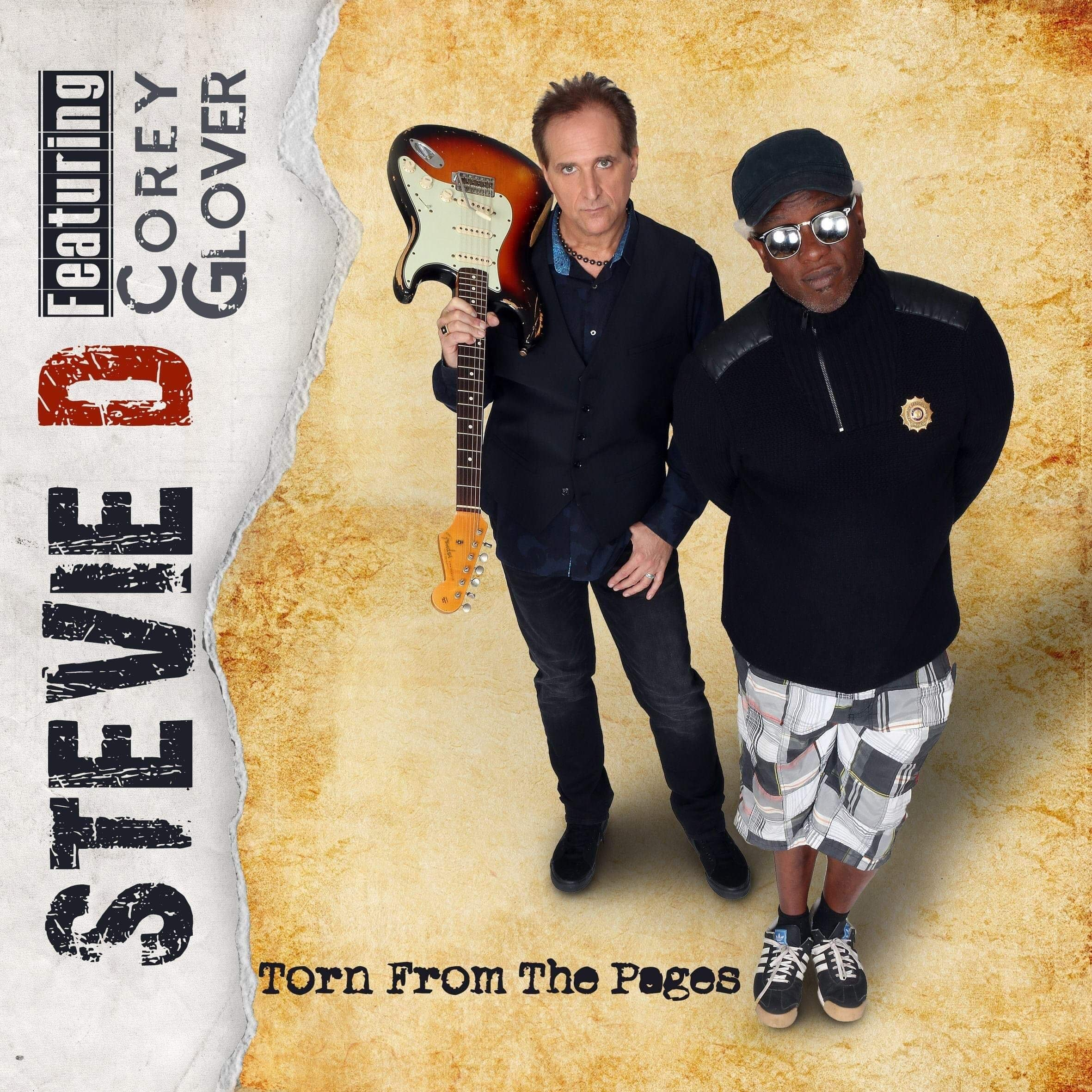 CD : Stevie D. / Glover corey - Torn From The Pages