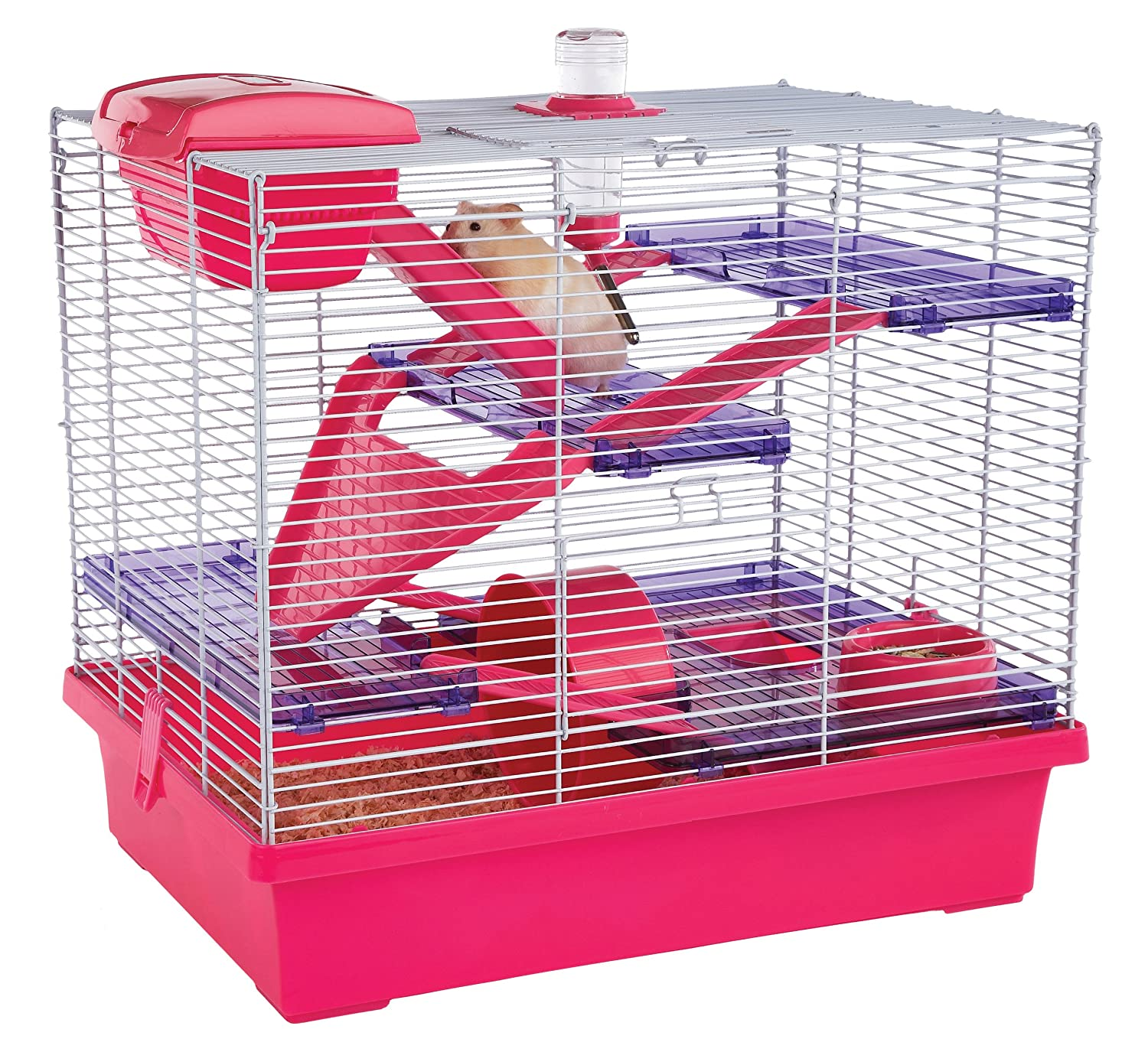 Extra Large Hamster and Mouse Cage Pink Not Suitable For Robo